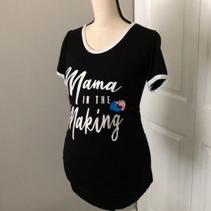 MAMÁ IN THE MAKING MATERNITY T-SHIRT